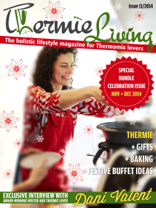 Dani Valent in our Christmas Issue
