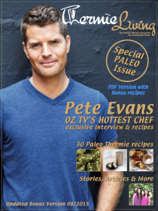 Pete Evans and Thermomix